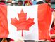 A Canadian fan flies his flag during the second half of FIFA U-20 World Cup quarterfinals game with Germany at Commonwealth Stadium in Edmonton Alta., on Aug. 16, 2014. Germany won 2-0. Ian Kucerak/Edmonton Sun/ QMI Agency