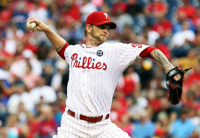Philadelphia Phillies right-hander A.J. Burnett could be an option for the Los Angeles Angels to replace the injured Garrett Richards. (USA Today)