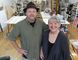 Ben Darrah, left, and his mother Ann Clarke are opening up a new art centre in the village of Newburgh, which will feature exhibitions, workshops and art classes. (Michael Lea/The Whig-Standard)