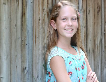 Stratford dancer Jada Piro-De Fehr, 11, will be studying at the Canada's National Ballet School starting next week. (SCOTT WISHART/The Beacon Herald)