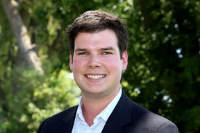 Ryan Low is running for councillor in King's Town District in the November Kingston municipal election. (Ian MacAlpine/The Whig-Standard)