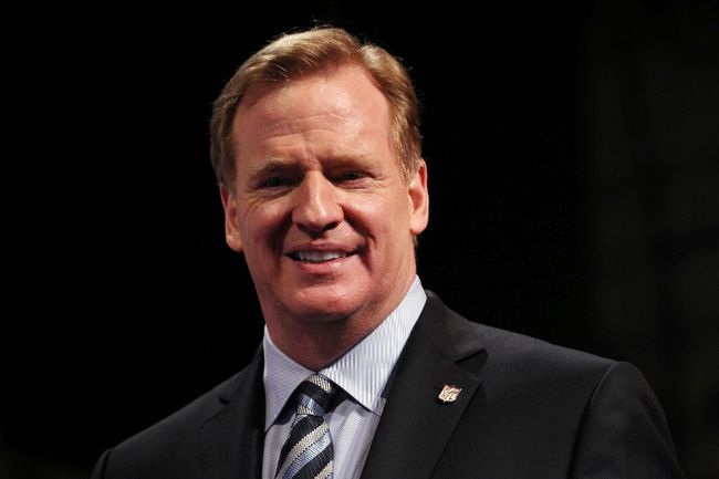 NFL commissioner Roger Goodell released harsher domestic violence penalties following a public outcry over a two game suspension handed down to Ravens running back Ray Rice last month. (Adam Hunger/USA TODAY Sports)