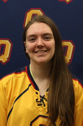 Stephanie Pascal will be vying to be the No. 1 goalie for the Queen's Golden Gaels women's hockey team this season. (Queen's University Athletics)