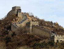 The magnificent Great Wall near the Northern entrance near Badaling, China. IAN ROBERSTON PHOTO