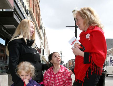 Liberal candidate Kimberley Love in 2011. (SUN TIMES FILE PHOTO)