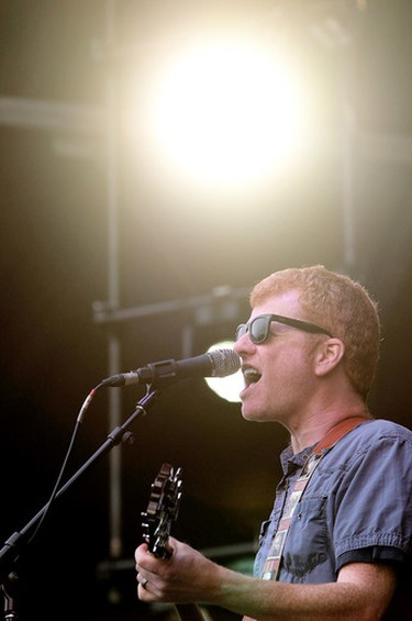 A. C. Newman and The New Pornographers perform at Sonic Boom at Northlands, in Edmonton Alta., on Friday Aug. 29, 2014. David Bloom/Edmonton Sun/QMI Agency