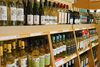 Wine bottles on display at an LCBO in Toronto. (Veronica Henri/Toronto Sun)