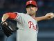 Phillies starting pitcher Cole Hamels and three relievers combined to throw a no-hitter against the Braves in Atlanta on Monday, Sept. 1, 2014. (Jayne Kamin-Oncea/USA TODAY Sports/Files)