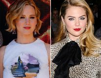 """Jennifer Lawrence, left, Kate Upton, middle, and Ariana Grande are among a few of the famous faces whose naked pictures were allegedly shared online. (<A HREF=""""http://www.wenn.com"""" TARGET=""""newwindow"""">WENN.COM</a>, Reuters photos)"""