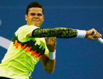 Raonic down and out after historic marathon U.S. Open match