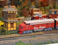 Grey Central Railway Club takes place in Holland Centre at Participation Lodge.