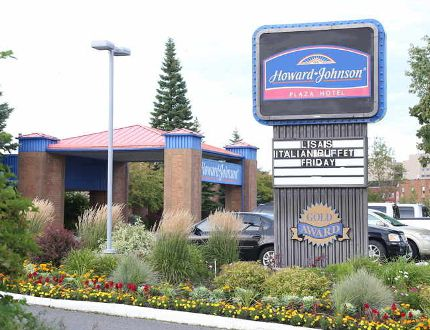 Gino Donato/The Sudbury Star The Howard Johnson Plaza Hotel on Brady Street may be sold.