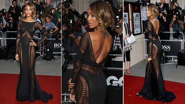 """BEST: Jourdan DunnDunn looked sultry in a Zuhair Murad Couture peek-a-boo, fishnet-inspired gown with sequins that gave it a subtle sparkle.(WENN.COM)  PDRTJS_settings_7810070 = { """"id"""" : """"7810070"""", """"unique_id"""" : """"default"""", """"title"""" : """""""", """"permalink"""" : """""""" }; (function(d,c,j){if(!document.getElementById(j)){var pd=d.createElement(c),s;pd.id=j;pd.src=('https:'==document.location.protocol)?'https://polldaddy.com/js/rating/rating.js':'http://i0.poll.fm/js/rating/rating.js';s=document.getElementsByTagName(c)[0];s.parentNode.insertBefore(pd,s);}}(document,'script','pd-rating-js'));"""