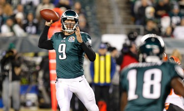 Philadelphia Eagles Division:  1.05 Conference: 12-1 Super Bowl: 25-1 Likes: QB Nick Foles is one of the league's best-kept secrets. RB LeSean McCoy could have his best year yet. Coach Chip Kelly has a year under his belt in the pros and offence appears primed and ready.  Yikes: Team did little to upgrade a 29th-ranked defence, particularly leaky against the pass. NFC East foes should be better than last year and facing NFC West is on their docket.  Worth a bet? Division winner from a year ago, favoured to repeat and they are 15-1 to take the NFC? With Philly's high-octane offence, there are worse things you could do with your cash.