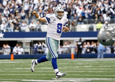 Dallas Cowboys Division: 4-1 Conference: 25-1 Super Bowl: 50-1 Likes: WR Dez Bryant primed for a huge year. Scott Linehan will replace predictable play caller Bill Callahan. Tony Romo is vilified, but Dallas averaged 27.4 points per game, fifth-best in NFL.  Yikes: The 32nd-ranked horrific defence from last year could be even more ghastly this year. Cowboys could be only team to not get 30 sacks this season. Jerry Jones needs to fire his coach.  Worth a bet? They'll score some points but, unfortunately, they will allow an awful lot of them, too. Odds should be higher, but Texas is a big football state filled with delusional fans. Good luck to them.