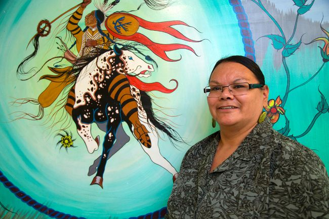 Sharon George of the N'Amerind Centre in London has been nominated for a Pillar Award. Mike Hensen/The London Free Press/QMI Agency