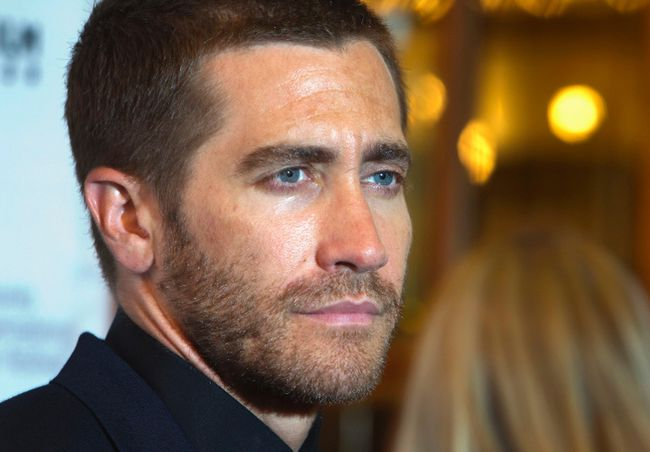 "Cast member Jake Gyllenhaal arrives at the premiere of the film ""Nightcrawlers"" at the Toronto International Film Festival (TIFF) in Toronto, September 5, 2014. REUTERS/Fred Thornhill"
