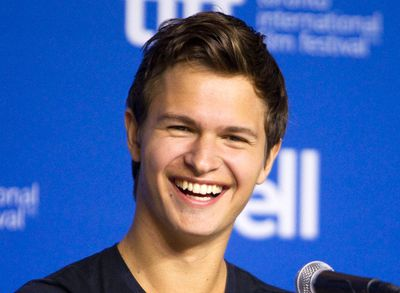 """Actor Ansel Elgort attends a news conference to promote the film """"Men, Women & Children"""" at the Toronto International Film Festiva in Toronto, September 6, 2014. REUTERS/Fred Thornhill"""
