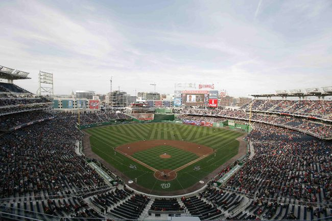 Nationals Park in Washington, D.C. could be hosting a Winter Classic next season. (REUTERS)