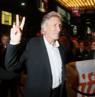 Roger Waters of 'Roger Waters the Wall' arrives on the Red Carpet at the Elgin and Winter Garden Theatre during the Toronto International Film Festival in Toronto on Saturday September 6, 2014. Stan Behal/Toronto Sun/QMI Agency