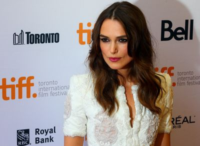 Keira Knightley on the red carpet for movie