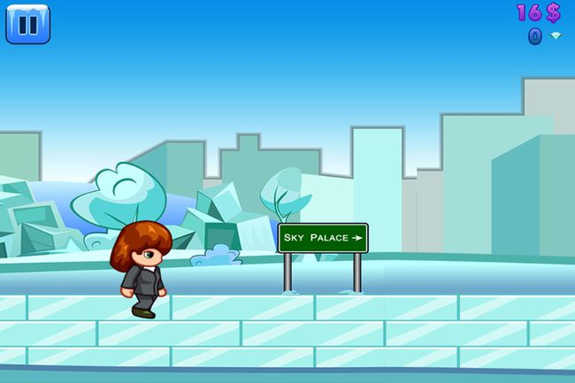 """A frame grab from a new mobile video game called """"aura of power"""".  A recent  Alberta Auditor General report used that term in a scathing report into former premier Alison Redford's expenses. Rocketfuel Games and Edmonton online developer is behind the game."""