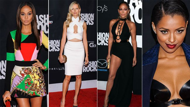 'Fashion Rocks' the celebrity and rocker mashup that raises money for charity took place in New York City, and not surprisingly, things got red-hot on the red carpet. Here are some of the sexiest looks from the event. What do you think?