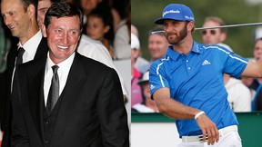 Wayne Gretzky is offering his support to his trouble future son-in-law PGA golfer Dustin Johnson. (REUTERS)