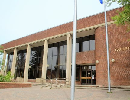 Fort McMurray's court house. Vincent McDermott/Today Staff