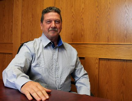 Wolfgang Schaefer wants to be the next Winkler mayor.