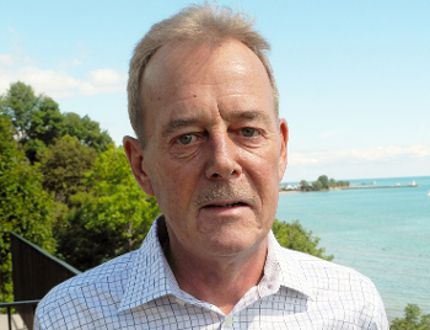 Jim Miller of Port Dover is the third person to enter the race for Norfolk County Mayor. (SARAH DOKTOR Simcoe Reformer)