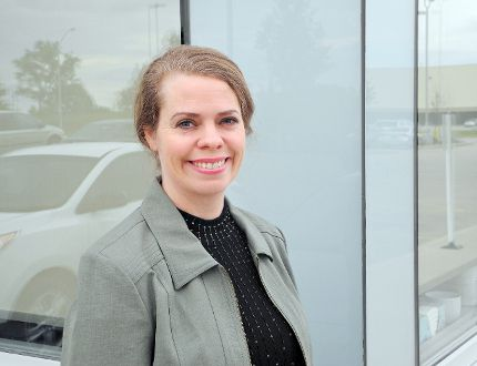 Mary Ellen Kaye is a candidate for mayor of Brantford in the Oct. 27 municipal election. (Vincent Ball, The Expositor)