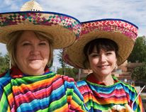 Served Simply owners Debbie Hewitt and Laurie Collier celebrated their second anniversary with a Mexican themed lunch at the William Glesby Centre on Sept. 13. Hewitt and Collier served nachos, tacos, taco salad, and sombrero sundaes. (Svjetlana Mlinarevic/The Graphic/QMI Agency)