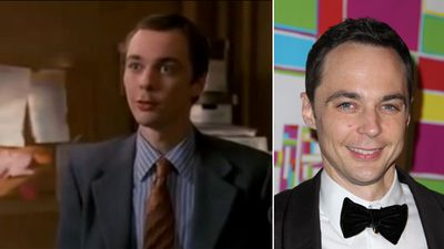 "<b>Jim Parsons</b><br>He may play supercilious Sheldon, but Parsons got his start in TV as an eager-to-please court clerk in the final season of the CBS legal drama ""Judging Amy."" He appeared as Rob Holbrook for seven episodes before it was cancelled in 2005.<br><b>INTERESTING FACT:</b> Parson's first film role was a bit part in Zach Braff's ""Garden State."" He played a Medieval Times employee who could speak Klingon.<br>(YouTube screengrab and <A HREF=""http://www.wenn.com"" TARGET=""newwindow"">WENN.COM</a> photos)<br><br><iframe width=""420"" height=""315"" src=""//www.youtube.com/embed/wVAm5KIxhcs"" frameborder=""0"" allowfullscreen></iframe>"