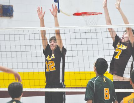 Action from the PCI Trojans JV volleyball game against John Taylor Sept. 16. (Kevin Hirschfield/The Graphic)