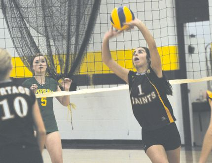 Action from the PCI Saints JV volleyball game against John Taylor Sept. 16. (Kevin Hirschfield/The Graphic)