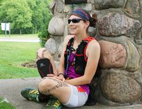 Rhonda-Marie Avery a vision impaired mother of three from Barrie ran the entire Bruce Trail of 885 km from Aug. 4 to Aug. 23 and for her it was a life altering experience she won't soon forget.