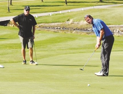 Last year's Pro Am in Carman attracted a mixed field of 90 pro and amateur golfers. (FILE/CARMAN VALLEY LEADER)