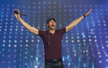 Enrique plays the Air Canada Centre on the Sex and Love tour in Toronto, Ont. on Saturday September 20, 2014. Jack Boland/Toronto Sun/QMI Agency