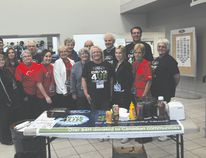 Portage la Prairie Westward Ford and the Children's Wish Foundation Portage chapter teamed up Saturday for the Drive One event. (Kevin Hirschfield/The Graphic)