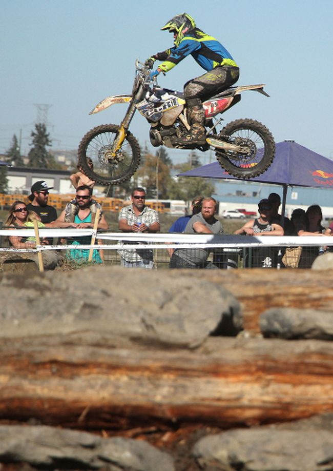 Endurocross Riders Rip Up Wild Rose Track Other Sports