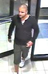 Investigators need help identifying this man, who is suspected of and attack and iPhone 6 theft in Pickering Sept. 21, 2014. (Durham Regional Police photo)
