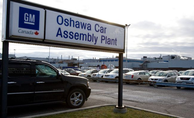 General Motors plant in Oshawa (Dave Thomas/Toronto Sun files)