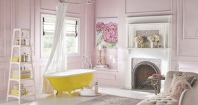 Pastels combine with zesty, bright accents in new colour palettes by Behr