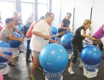 Drums Alive combines fun, music and a way to stay physically active.