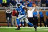 Detroit Lions wide receiver Calvin Johnson (81) make a catch and runs for a touchdown. (Andrew Weber-USA TODAY Sports)