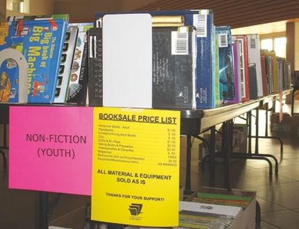 Boxes of books that were not purchased during the Strathcona County Library's annual book sale are going to be donated to the needy in Zambia. Photo Supplied
