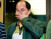 Lin Jun's father, Diran Lin, outside court in Montreal where Luka Magnotta is on trial for murder, on Monday, Sept. 29, 2014. (PIERRE-PAUL POULIN/QMI Agency)