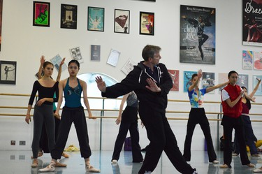 """Rehearsals for the the Royal Winnipeg Ballet's """"Going Home Star -- Truth and Reconciliation."""""""
