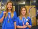 Sabres' Rachel Krisko and Haley Moulton are a winning pair. In their first year of playing tennis, the duo captured the NSSAA tennis championship on Sept. 26. The Simcoe Composite School students will be CWOSSA bound next Friday in Waterloo. (EDDIE CHAU Simcoe Reformer)
